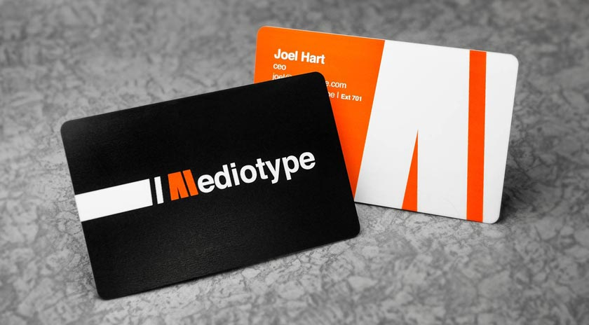 print plastic business cards