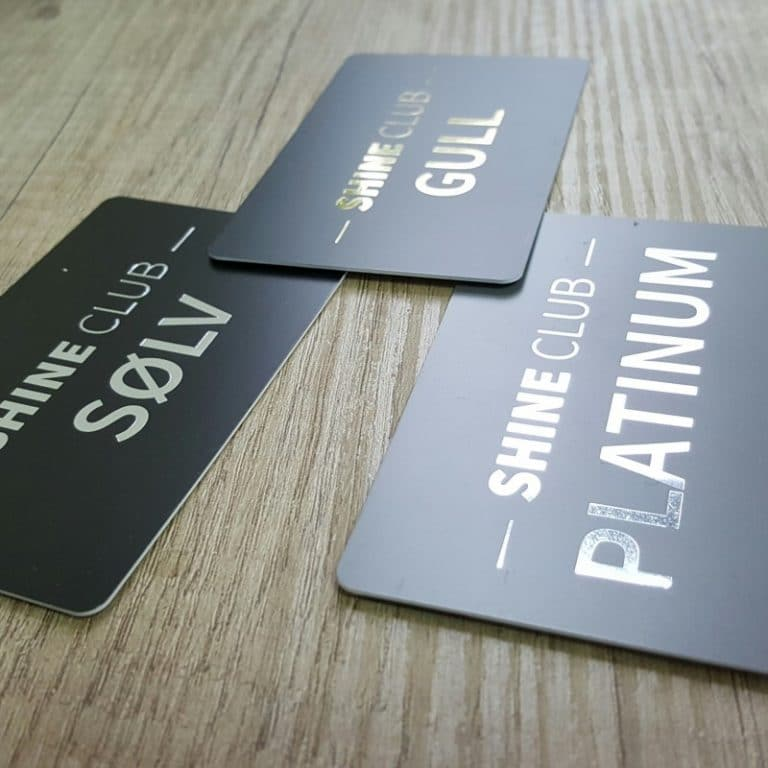 plastic club cards