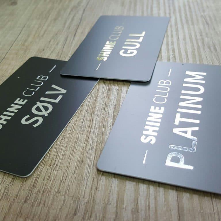 plastic club cards