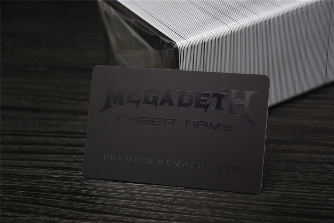 matte laminated plastic cards