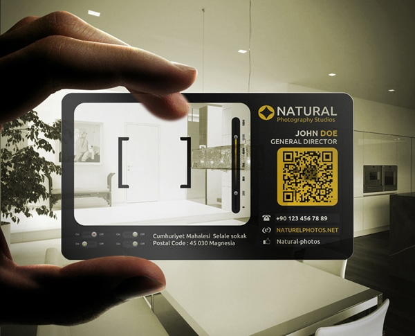 qrcode businesscard