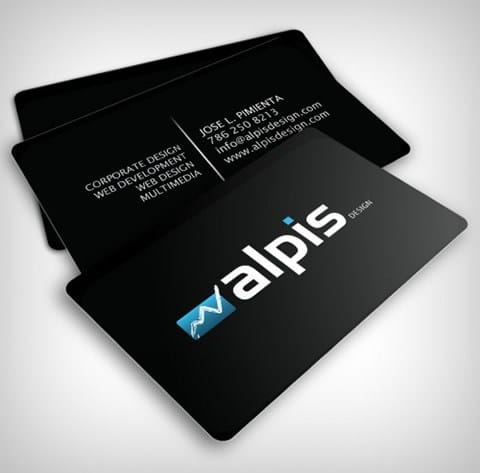 plastic card with matte lamination