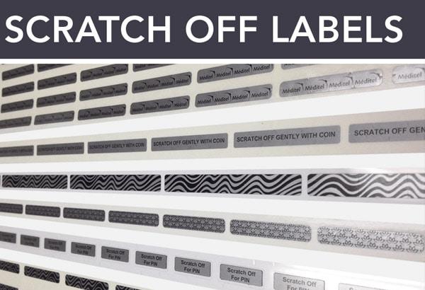 plastic scratch cards