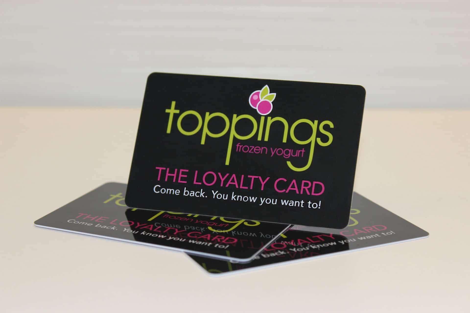 Plastic Loyalty Cards Colormax Printing