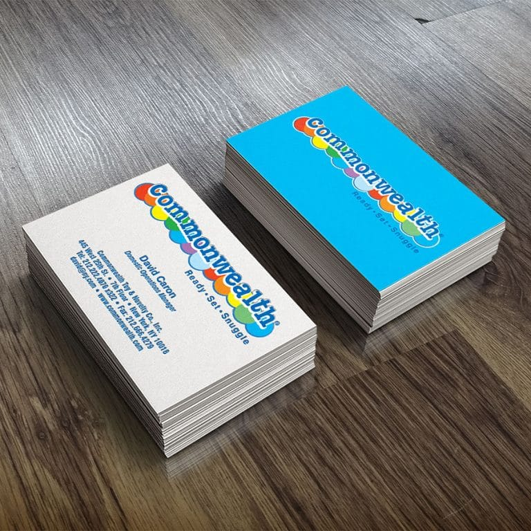 Standard paper business card